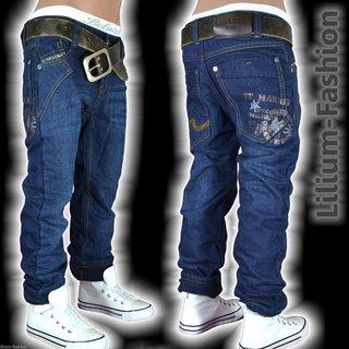 3d4857c75326cb D-37 Thermo Fleece-Futter Winter Jeans Hose Kinder Junge CHILONG 92-146 ...