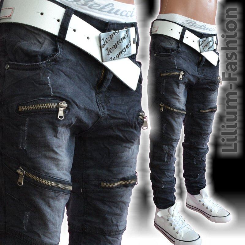 fc 011 jeans hose junge kinder slim fit skinny bikerjeans. Black Bedroom Furniture Sets. Home Design Ideas