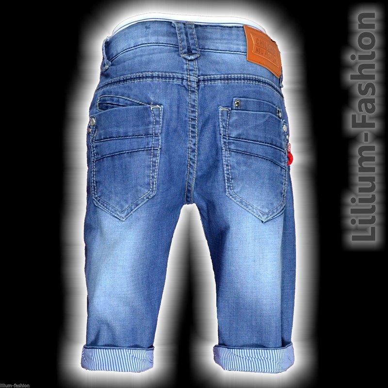 h1363 kurze hose bermuda jeans short junge kinder chilong denim. Black Bedroom Furniture Sets. Home Design Ideas