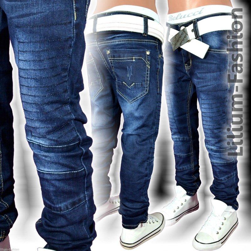 H1425 Coole Jeans Hose Junge Kinder SLIM-FIT SKINNY. 847e10149c
