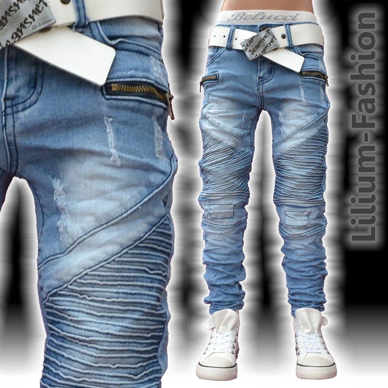 a1801 blau jeans junge kinderjeans skinny bikerjeans stretch 19 99. Black Bedroom Furniture Sets. Home Design Ideas