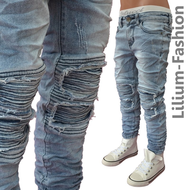 a1803 blau jeans junge kinderjeans skinny bikerjeans. Black Bedroom Furniture Sets. Home Design Ideas