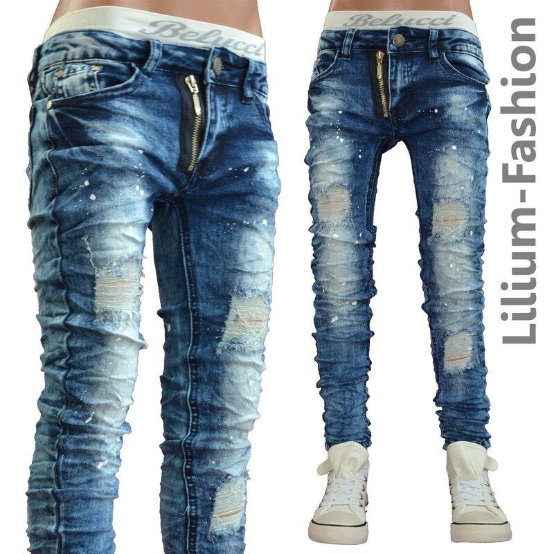 30lf23 blau jeans hose junge kinderjeans cargo bikerjeans. Black Bedroom Furniture Sets. Home Design Ideas